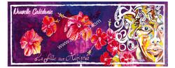 la fille aux hibiscus