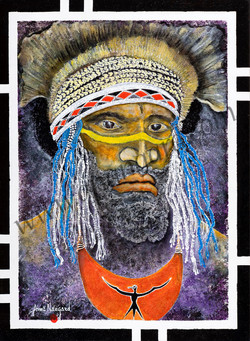 Goroka Warrior 54x73