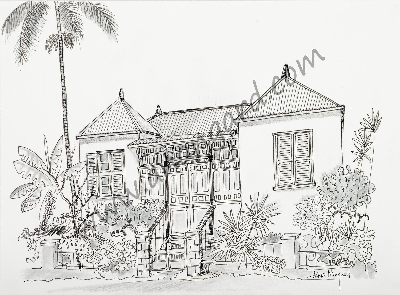 Maison calédonienne Faubourg Blanchot