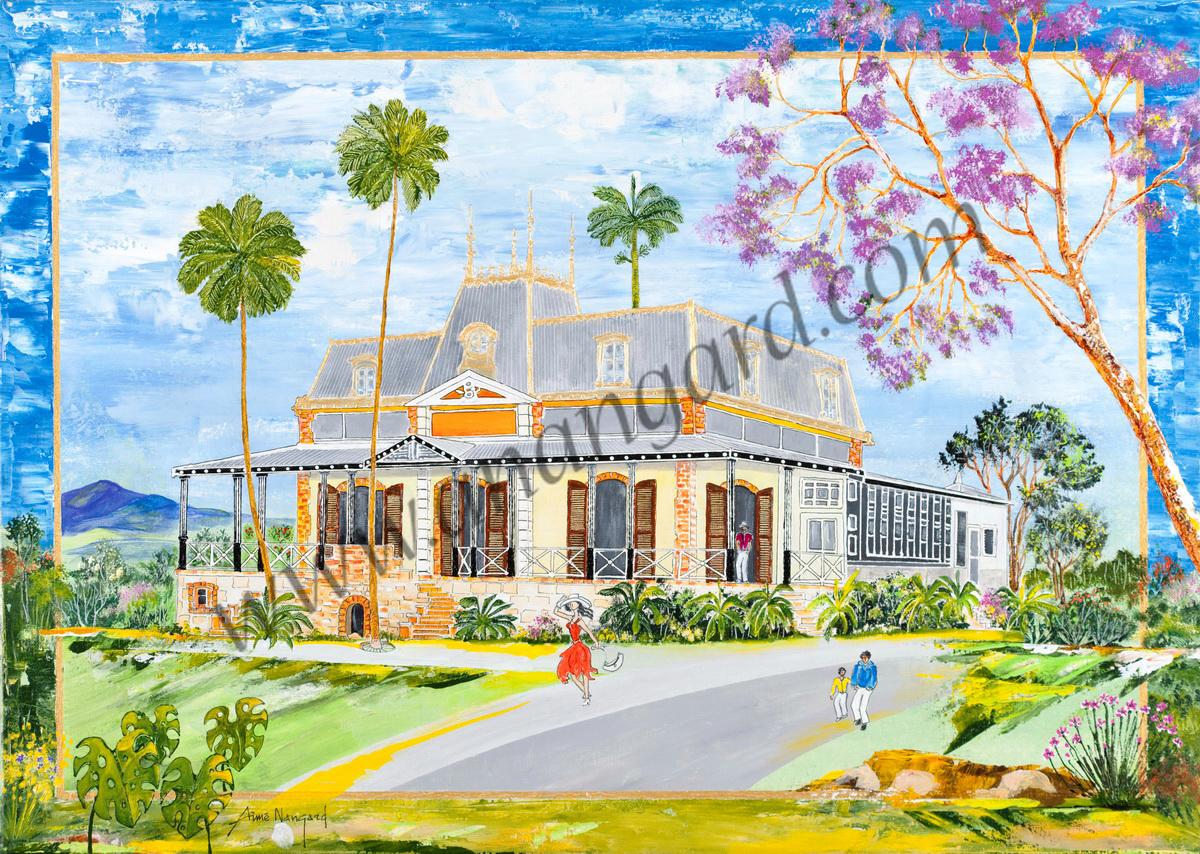 Ballade au chateau Hagen 73x100