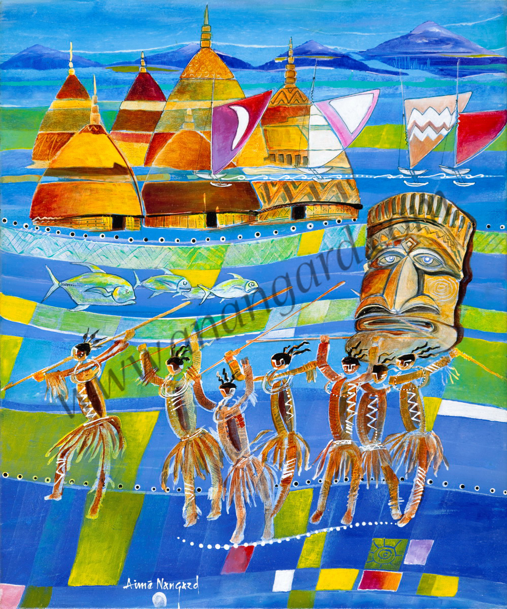Danseurs des iles 51x61
