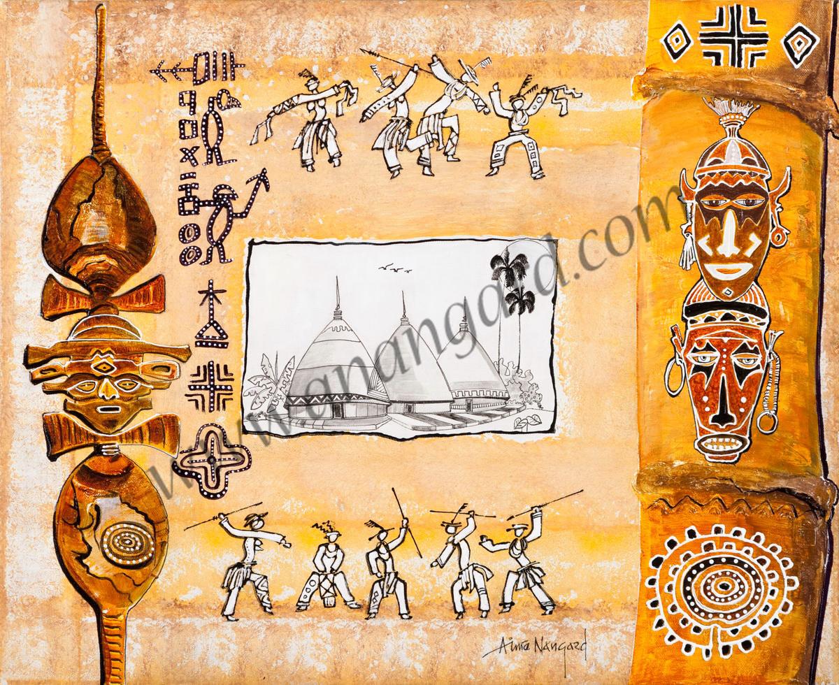 Carte postale 50x60