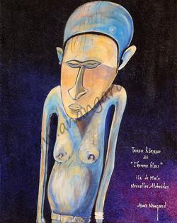l homme bleu