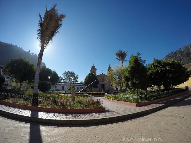 plaza principal nemocon