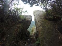 Filo rocoso en el Cerro de Quininí (Cundinamarca)