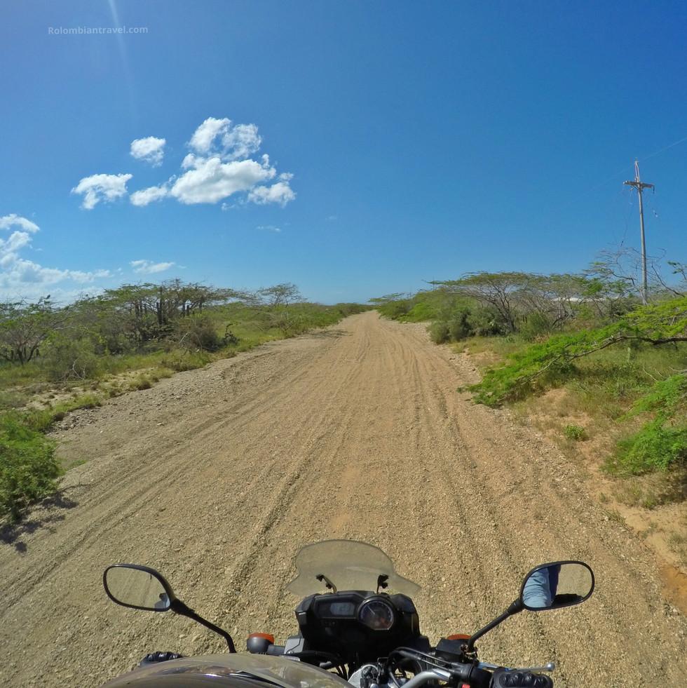 Ruta Uribia-Cabo de la Vela (La Guajira)