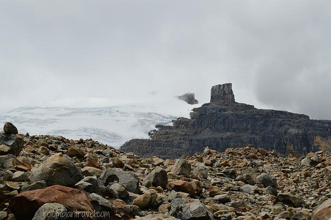 pulpito del diablo y pico nevado pan de azucar parque nacional natural el cocuy