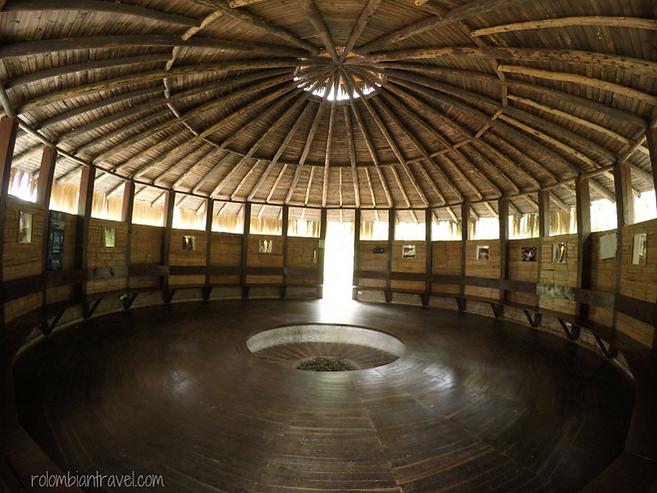 cultura muisca en laguna de guatavita