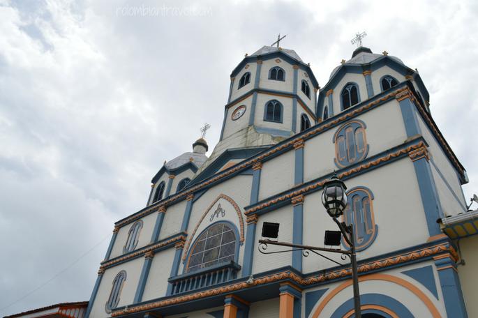 Iglesia María Inmaculada en Filandia (Quindío)