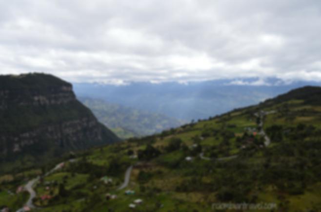 paisaje via bogota choachi