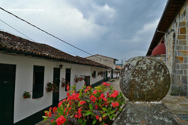 Calles en Guadalupe, Santander