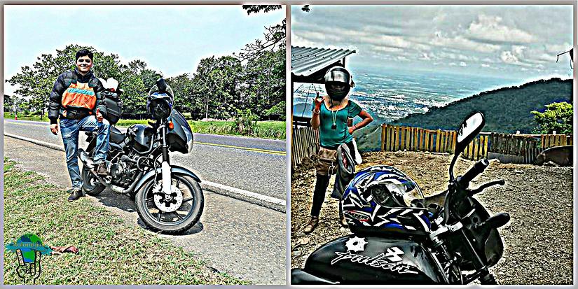 Viajar en moto Pulsar 180