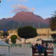 Volcán Imbabura desde Ilumán, Ecuador