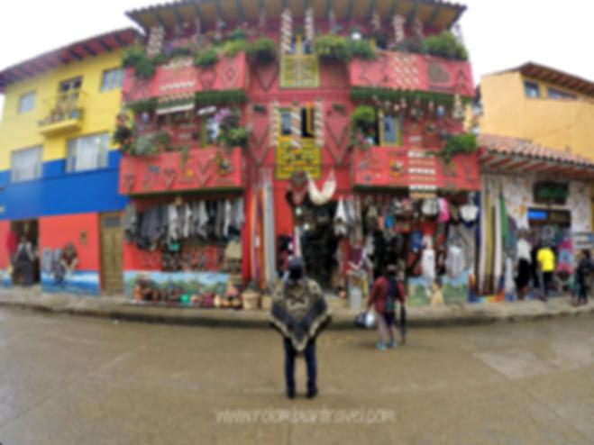 Calles de Ráquira, Boyacá