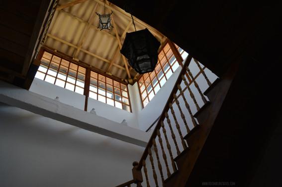 Interior de la Iglesia de la Compañía de Jesús en Quito, Ecuador