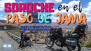 Soroche en el Paso de Jama ¡llegamos a tierras argentinas 🇦🇷! // CAP. 31