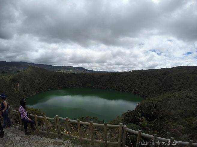 mirador laguna de guatavita colombia