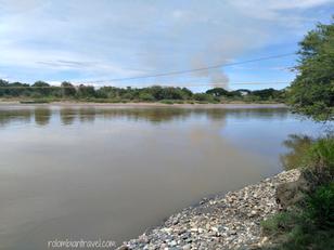 Río Magdalena en La Victoria (Huila)