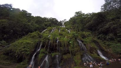 Cascadas en Termales Santa Rosa de Cabal (Risaralda)