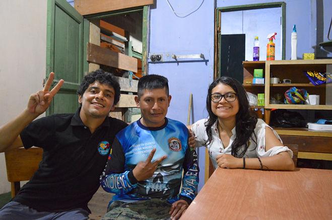 Motoposada en La Libertad, Ecuador Ruta del Spondylus