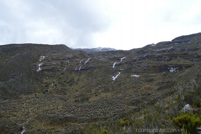 deshielo nevados en parque nacional natural el cocuy