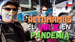 Retomamos el VIAJE en PANDEMIA 😷🏍 (Ruta Coyhaique-Puerto Cisnes 🇨🇱) // CAP. 52