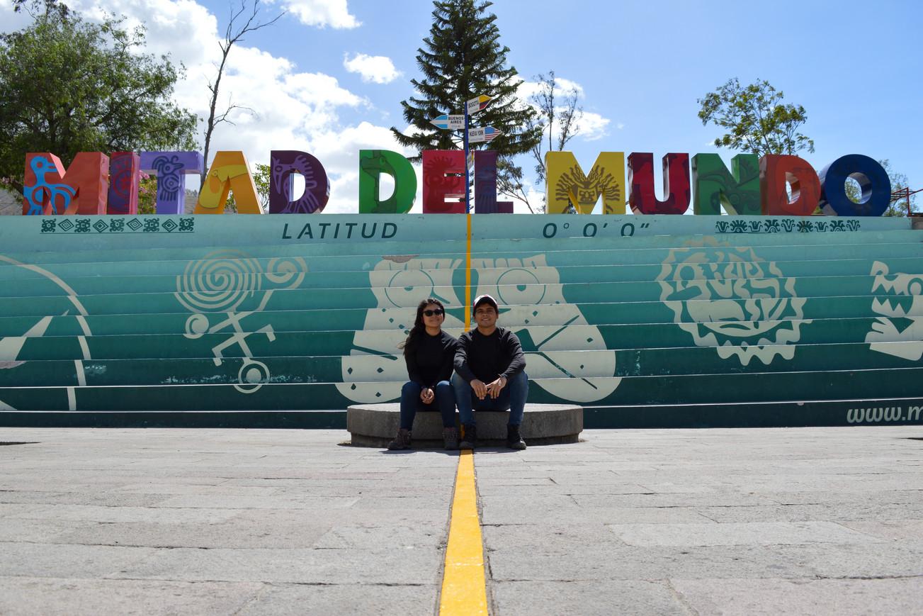 Ciudad Mitad del mundo en Quito, Ecuador