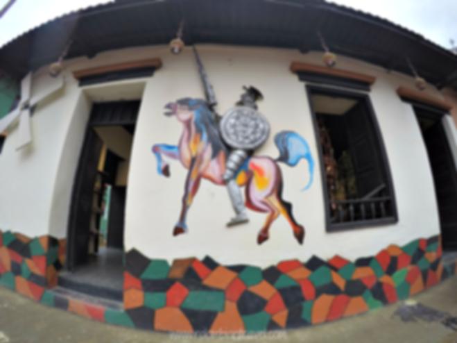 Arte en las calles de Ráquira, Boyacá