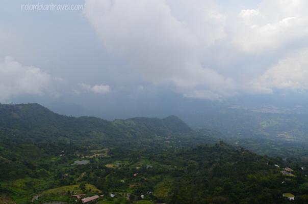 Vista desde el mirador de La Mesa (Cundinamarca)