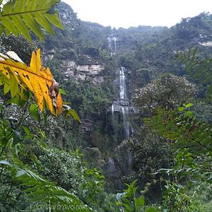 Cascada La Chorrera, Choachí (Cundinamarca)