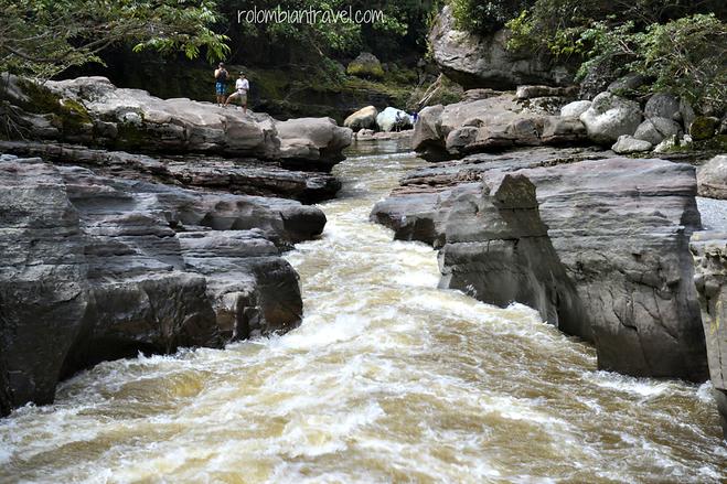 Estrecho del río Magdalena, Huila