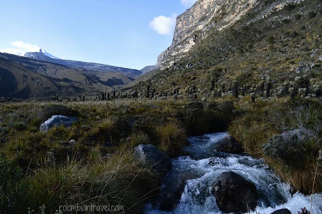 valle de los frailejones sendero laguna grande de la sierra