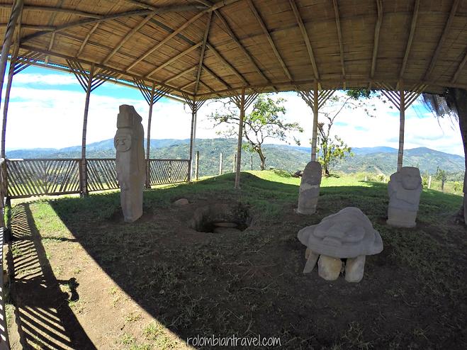 Alto de Lavapatas en Parque Arqueológico de San Agustín, Huila