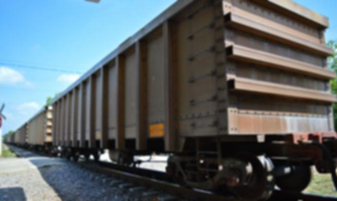 Tren de carbón en Aracataca, Magdalena