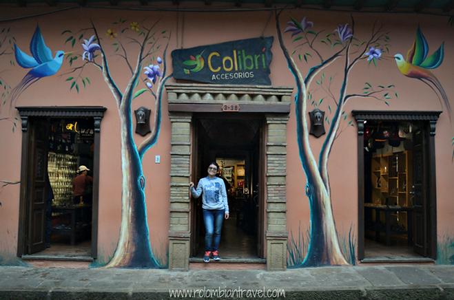 Arte en las fachadas de las casas de Ráquira, Boyacá