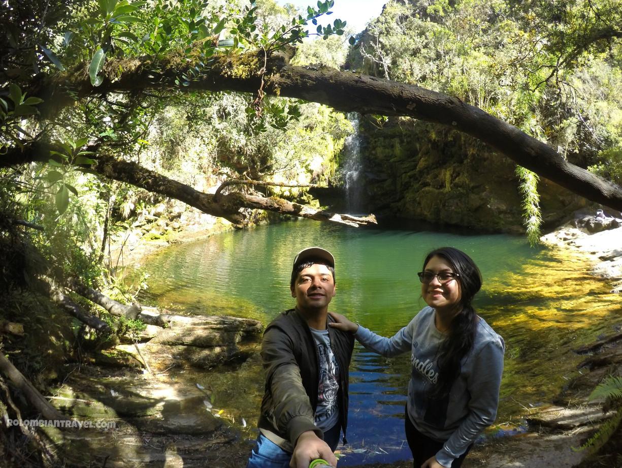 Salto de la Nutria, Páramo de Guacheneque, Villapinzón