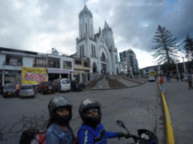Basílica Menor de Nuestra Señora de las victorias en Santa Rosa de Cabal (Risaralda)