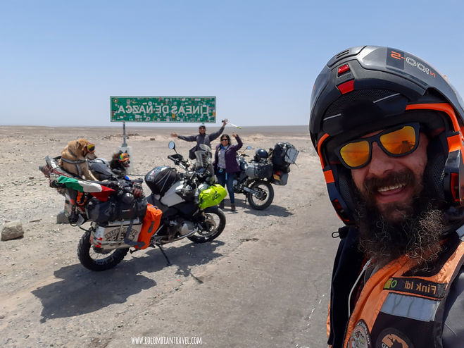 Rolombian Travel y Perrodadores en las Líneas de Nazca, Perú