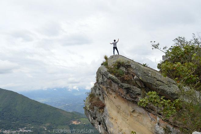Cabeza del indio en Cerro de Quininí, Cundinamarca