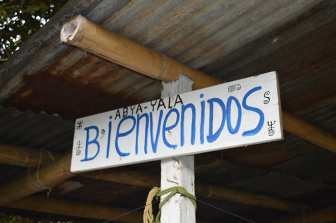 Entrada Parque Natural de Quininí, Cundinamarca