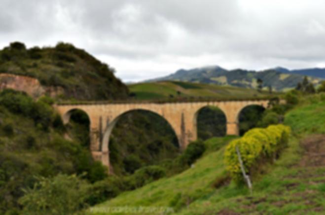 Puente Barducci o el Puentón en Samacá, Boyacá