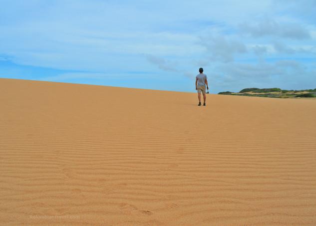 Dunas de Taroa (La Guajira)