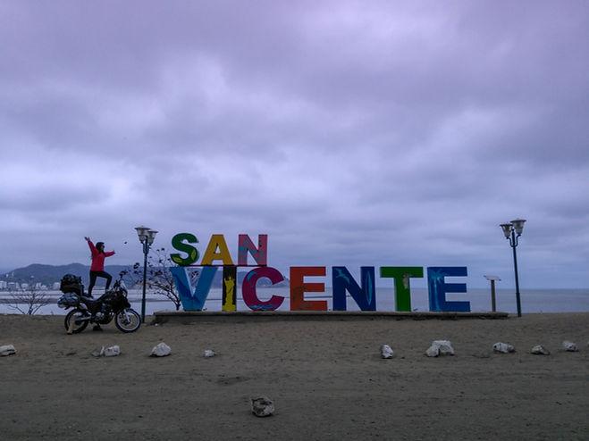San Vicente en Ecuador Ruta del Spondylus