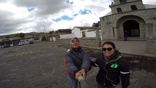 Conociendo la iglesia más antigua del Ecuador en Riobamba