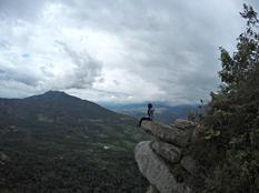 Pico del Águila en el Cerro de Quininí (Cundinamarca)