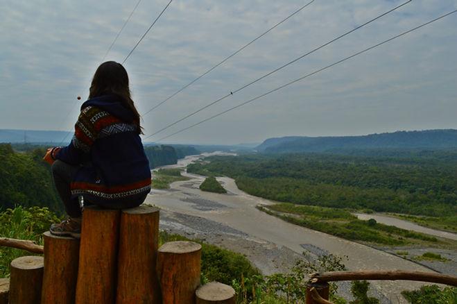 Mirador en Puyo, Ecuador