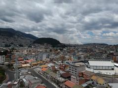 Vista panorámica de Quito, Ecuador