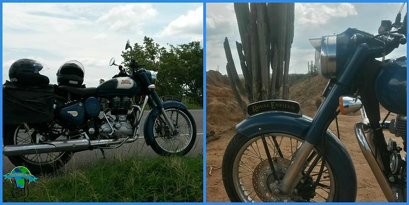 Viajar en moto Royal Enfield Classic 350
