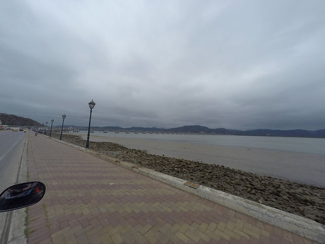 Bahía de Caráquez en Ecuador Ruta del Spondylus