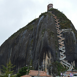 El Peñón de Guatapé (Antioquia)
